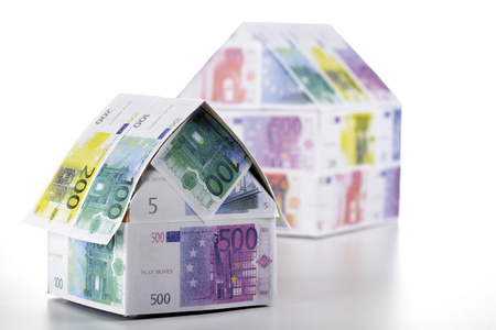 Two Houses Of Euro Notes