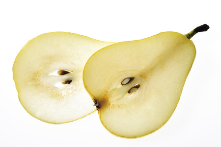 Slices Of Pear, Close-Up