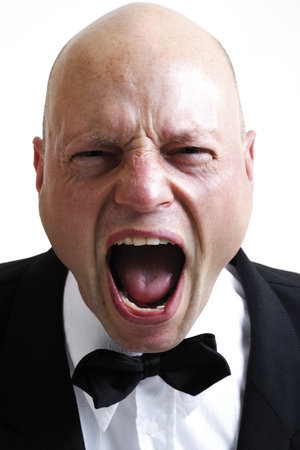 Man Screaming, Portait, Close-Up LANG_EVOIMAGES