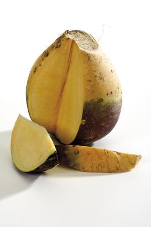 Sliced Rutabaga, Close-Up LANG_EVOIMAGES