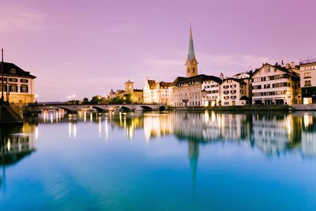 Switzerland, Zurich, City View