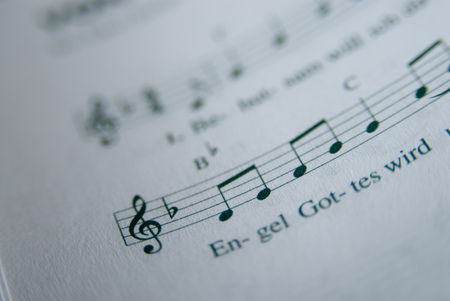 Sheet Of Music, Close-Up