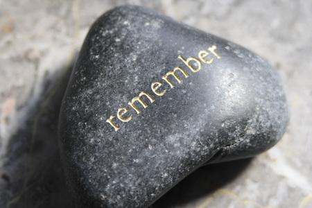 writ: Rememberance-Stone