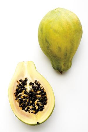 Pawpaw Fruits, Close-Up LANG_EVOIMAGES