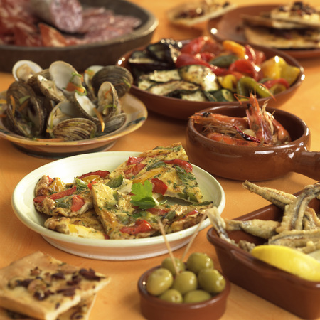 Various Mediterranean Starters