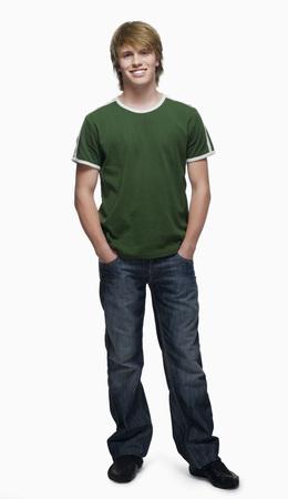 Teenage Boy (16-17) Smiling, Portrait LANG_EVOIMAGES