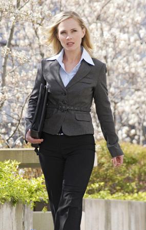 Businesswoman, Outdoors, Portrait