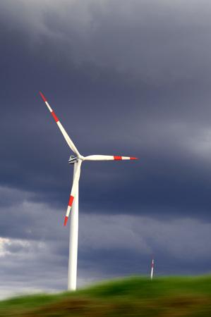 Germany, Baden-Wuerttemberg, Swabian Mountains, Wind Turbines LANG_EVOIMAGES