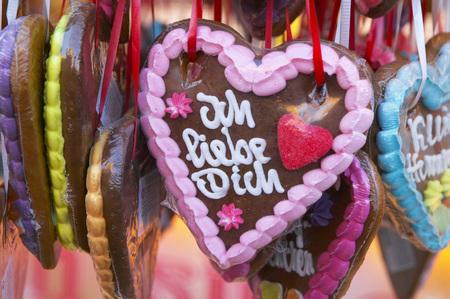 Gingerbread Hearts, Close-Up LANG_EVOIMAGES