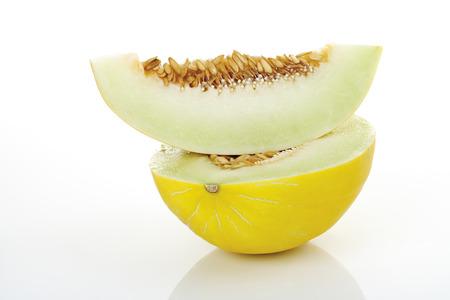 Slices Of Honeydew Melon, Close-Up LANG_EVOIMAGES