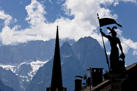 Germany, Bavaria, Garmisch-Partenkirchen, Zugspitze LANG_EVOIMAGES