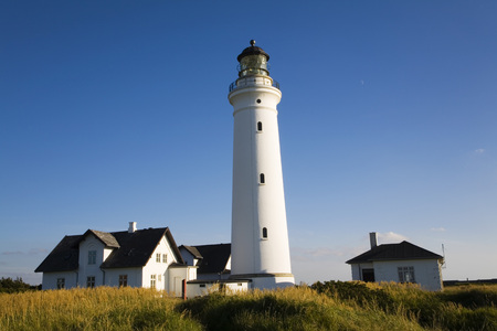 navigational light: Denmark, Hirtshals, Lighthouse LANG_EVOIMAGES
