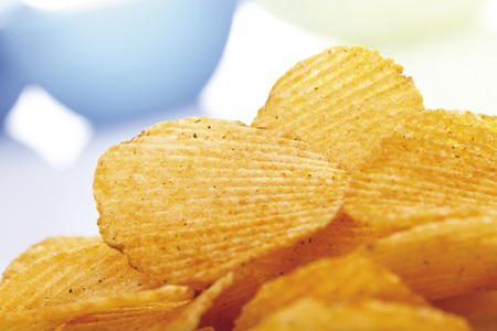 Potato Chili Chips, Close-Up