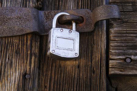 Locked Door, Close-Up LANG_EVOIMAGES