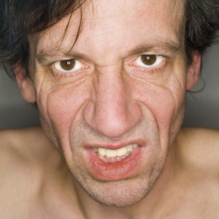 ManS Face, Portrait, Close-Up LANG_EVOIMAGES