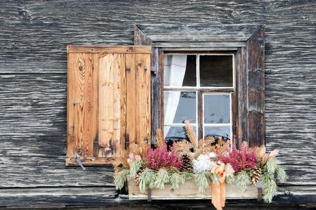 Switzerland,Arosa,Window And Flower Box LANG_EVOIMAGES