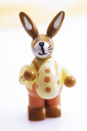 lapin: Figurine de lapin de Pâques