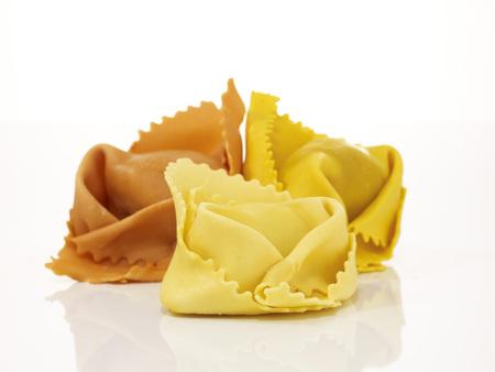 Uncooked Tortellini, Close-Up