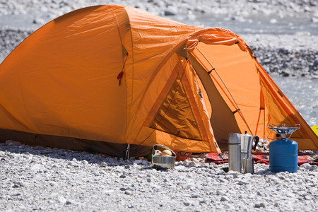 Germany,Bavaria,T?Lzer Land,Empty Tent