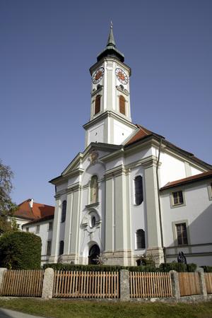 Germany, Bavaria, Schã¤Ftlarn Monastery LANG_EVOIMAGES