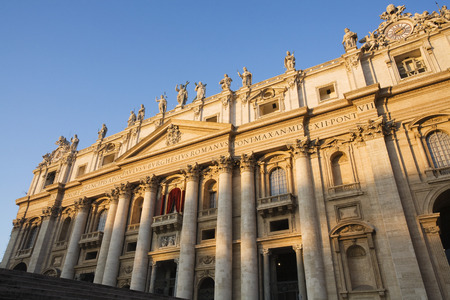 Italy, Rome, St. PeterS Basilica, Low Angle View