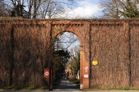 Germany, Munich, Graveyard Entrance LANG_EVOIMAGES