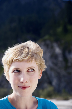 Germany,Bavaria,Young Woman,Portrait LANG_EVOIMAGES