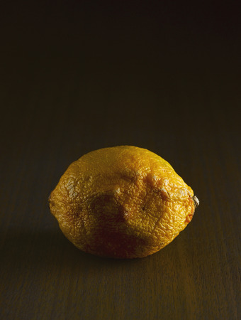 disgusted: Shrivelled Lemon