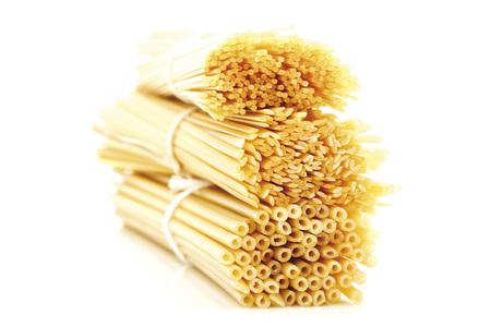 Bundles Of Pasta, Close-Up LANG_EVOIMAGES