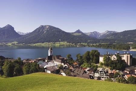 wolfgang: Austria, Lake Wolfgangsee, St Wolfgang, Church Of Pilgrimage