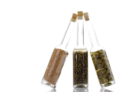 Glass Bottles With Spices