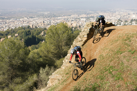 Spain, Sierra Nevada, Granada, Mountain Biking