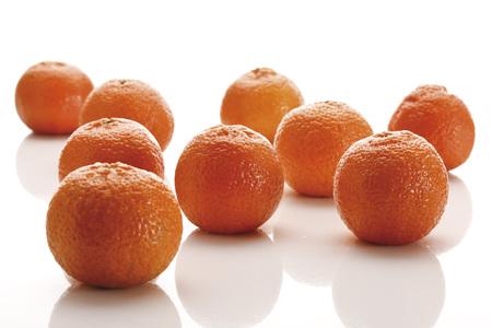 Fresh Tangerines (Citrus × Aurantium)