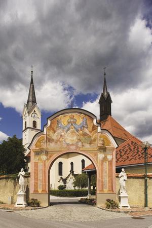 Austria, Steiermark, Maria Lankowitz, Pilgrimage Church