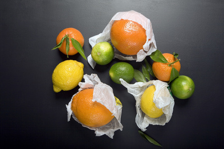 Citrus Fruits, Elevated View LANG_EVOIMAGES