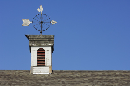 Usa,Palouse,Whitman County,Washington State,Weather Vane On House Top Close-Up