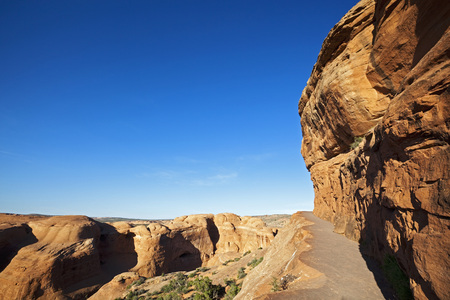 Usa,Utah,Arches National Park,Path To Delicate Arch LANG_EVOIMAGES