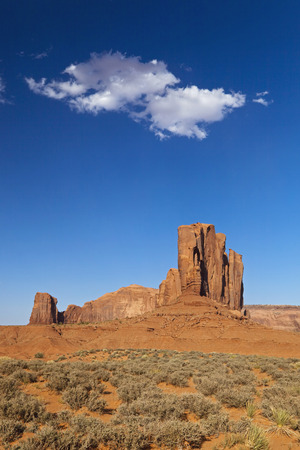 Usa,Arizona,Monument Valley,John FordS Point,Rock Formation