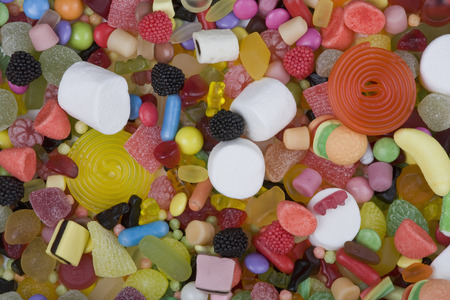 Various Sweets,Full Frame,Elevated View
