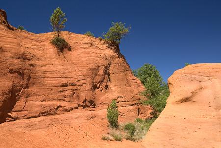France, Provence, Colorado Provencal, Ochre Rocks LANG_EVOIMAGES