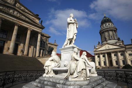 Germany,Berlin,Memorial,Friedrich Schiller,German Poet
