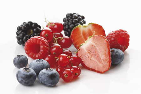 sorts: Fresh Wild Berries,Close-Up