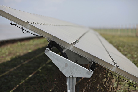 Germany,Bavaria,Malching,Solar Cells On Solar Plant LANG_EVOIMAGES