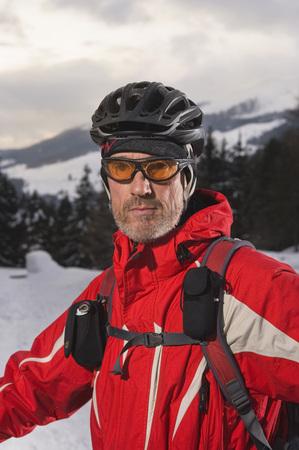 Austria,Tyrol,Mountainbiker,Close-Up