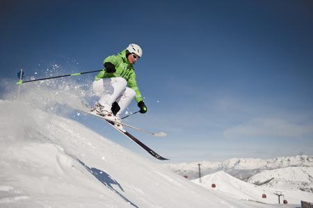 Austria,Salzburg,Altenmarkt-Zauchensee,Austrian Woman Skiing