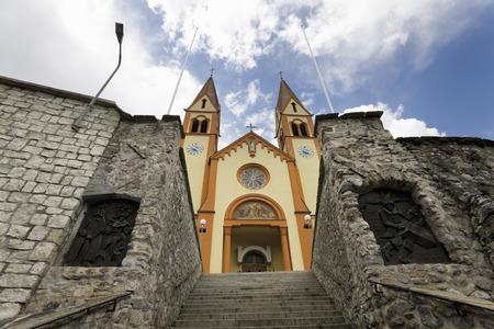 Austria,Tirol,Telfs,Auferstehungskirche (Resurrection Church)