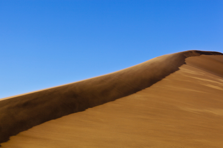 Africa,Namibia,Namib Naukluft National Park,Wind Blows Over Sand Dunes At Namib Desert LANG_EVOIMAGES