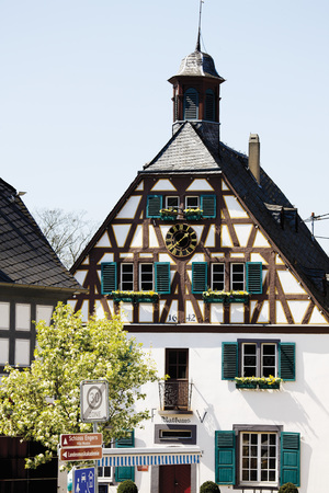 Germany,Rhineland-Palatinate,Neuwied,Engers,View Of Town Hall