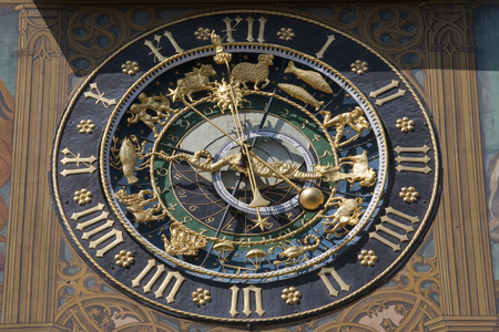 Germany,Ulm,Astronomic Clock On Town Hall