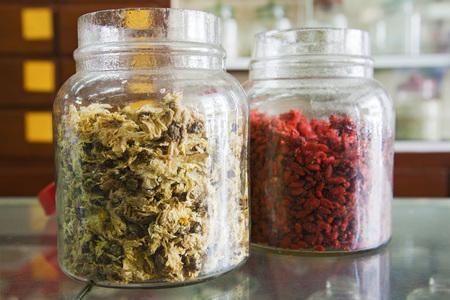 Malaysia,Tea Made Of Chrysanthemum And Goji Berries